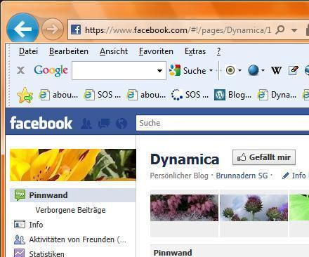 WERBUNG: Dynamica 1 Jahr auf Facebook – meine Bilanz